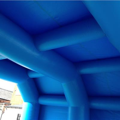 Inflatabel Sports Tunnel Internal Structure - I Beam