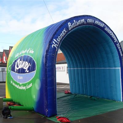 Small Inflatable Fully Branded Tunnel