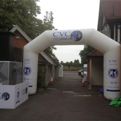 Inflatable Branded Gantry