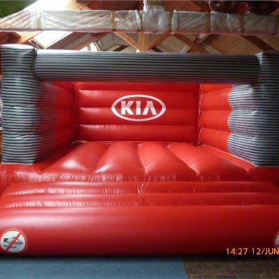 Giant inflatable Kia Bouncer