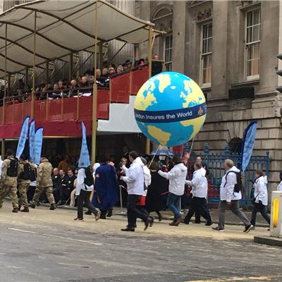 1.8m Sphere for the Lord Mayors Show 2019