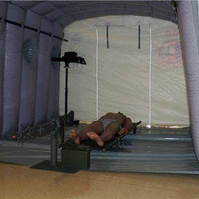 Inflatable Chinook Tunnel 