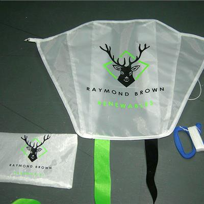 Branded Pocket Kites with Printed Bag