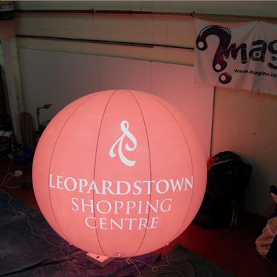 LED Lit Inflatable Sphere-Balloon