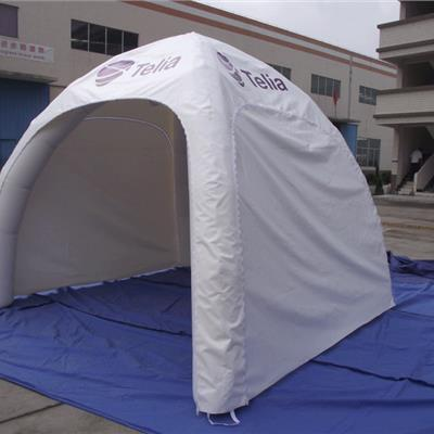 Small White Branded Inflatable Canopy