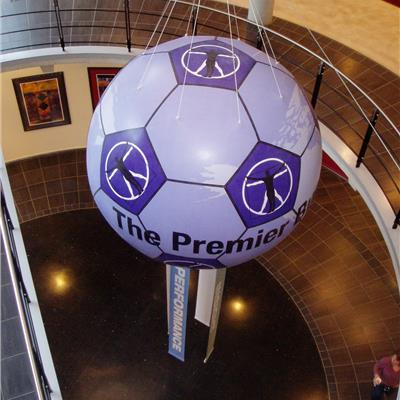 Inflatable Football Sphere