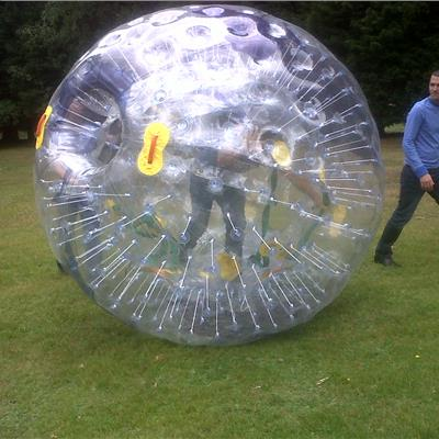 I(nflatabel Zorb in action