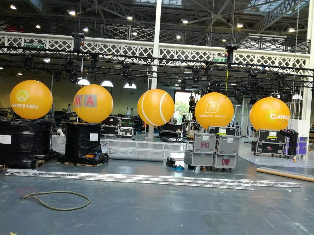 Branded Inflatable Giant Balloons, Exhibition Spheres for
