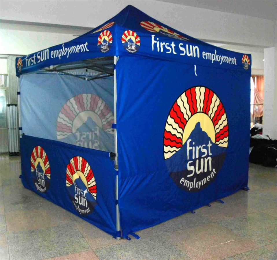 3M x 3M Branded Folding Pop Up Tent & Branded Pop-up Gazebos Folding Tents Mini Marquee Designs
